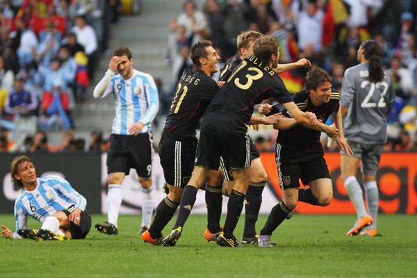ALEMANIA FULMINO A ARGENTINA!!!!!!!!!!!!!!